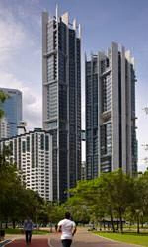das 265 Meter hohe 'Eight Spruce Street' (New York) von Gehry Partners, Los Angeles