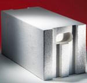 Porit PP2- 0,35 kombiniert Druckfestigkeitsklasse 2 mit λ = 0,08 W/mK