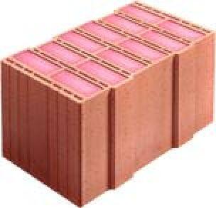 Wärmedämmziegel MZ60 gefüllt mit Resol- bzw. Phenolharz-Dämmstoff