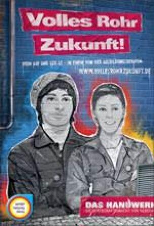 "ZVSHK-Nachwuchswerbekampagne ""Volles Rohr Zukunft"""
