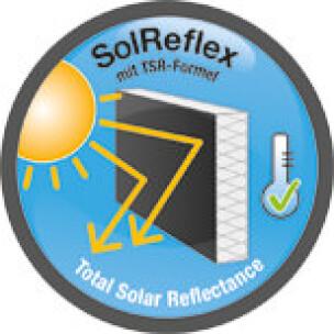 SolReflex für dunkle Fassaden
