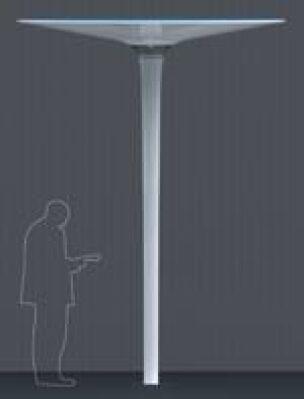 """skulpturale Leuchte """"Lichtraum – Raumlicht"""" von Marcel Schwegler"""