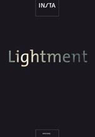 """Insta-Leuchtenkatalog """"Lightment"""""""