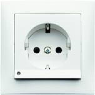 Steckdose mit LED-Orientierungslicht