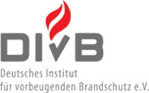 Logo Deutsche Institut für vorbeugenden Brandschutz e.V. (DIvB)
