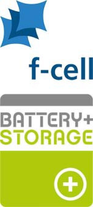 Logos von f-cell und Battery+Storage
