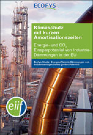 """EU-Studie: """"Klimaschutz mit kurzen Amortisationszeiten"""" bei Industrie-Dämmungen"""