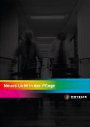 """Trilux Broschüre """"Neues Licht in der Pflege"""""""