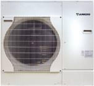 Luft/Wasser-Wärmepumpe von Junkers als Split-Variante