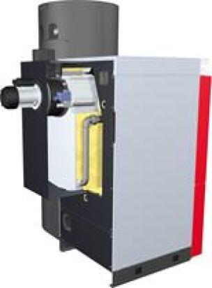 Fröling-Brennwerttechnik für Scheitholz, Hackgut und Pellets