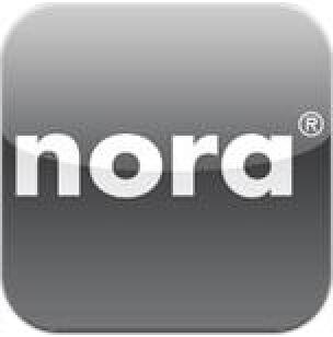 nora-App für iPad sowie iPhone über Kautschuk-Bodenbeläge