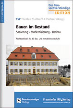 "Rechtsleitfaden ""Bauen im Bestand"""