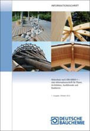 Informationsschriften Der Deutschen Bauchemie Zum Holzschutz Nach