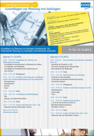 13. KONE Grundlagenschulung: Schulung zur Planung von Aufzügen in bestehenden Gebäuden