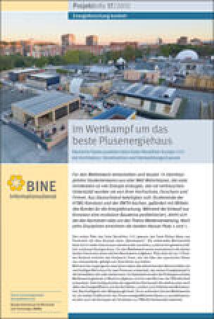 "BINE-Projektinfo ""Im Wettkampf um das beste Plusenergiehaus"" (17/2012)"