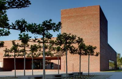 Das Dominikuszentrum, München, Meck Architekten, München, erhielt eine Anerkennung.