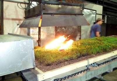 Auch mit aufgelegter Vegetationsmatte wurde der Test bestanden...