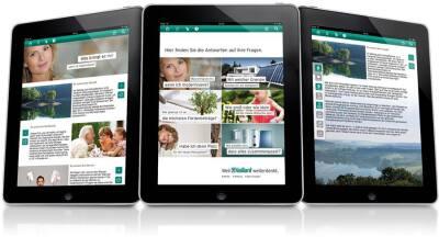 Modernisierungs-App für iPad von Vaillant