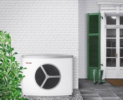 Außeneinheit der Luft/Wasser-Wärmepumpe WPL 25