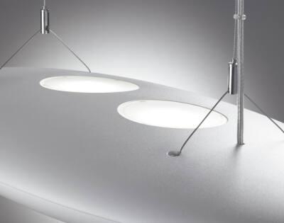 LumiStone Büroleuchte mit direkt-indirekter Lichtverteilung