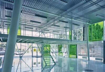 Glas Dönges Sobek GmbH, Neubau für Fabrikation und Verwaltung in Köln