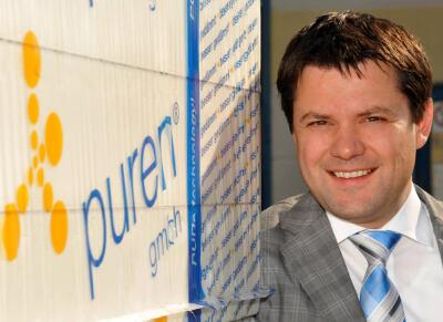 Dr. Andreas Huther, neuer Geschäftsführer der Puren GmbH