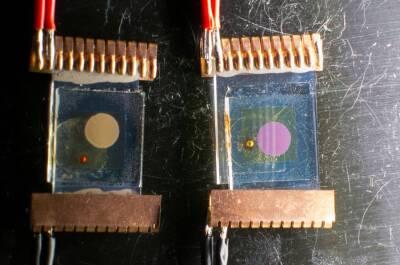 Farbstoffsolarzellen mit Ruthenium- und Zinkverbindungen