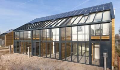 Null-Energie-Neubausiedlung Ulft