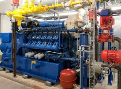 KWK-Technologie ermöglicht die gekoppelte Wärme- und Stromerzeugung