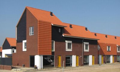 Siedlung Beinum in der niederländischen Gemeinde Doesburg bei Arnheim