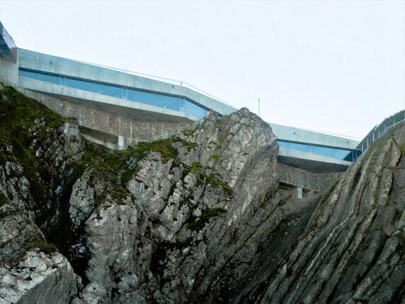 Panoramagalerie Pilaus Kulm von Graber & Steiger Architekten (Foto: Dominique Marc Wehrli)