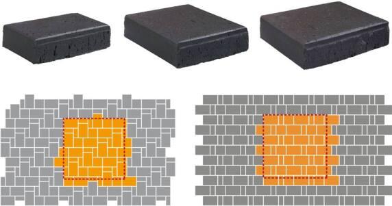 Pflaster Verlege Muster : Neuer FormatMIX für Individuelle Verlegebilder mit Pflasterklinkern