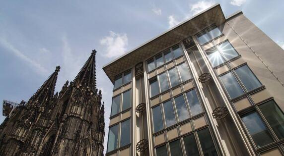 Blau-Gold-Haus in Köln