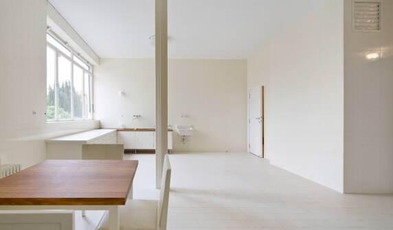 """Küche """"Villa Tugendhat"""" von Mies van der Rohe"""