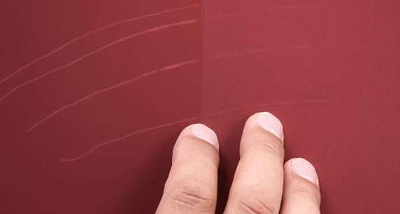 Schreibeffekt bei matten Innenfarben