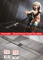 Duschrinne CeraLine Aktiv