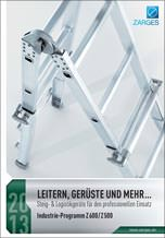Katalog: Zarges Industrieprogramm Z600/Z500