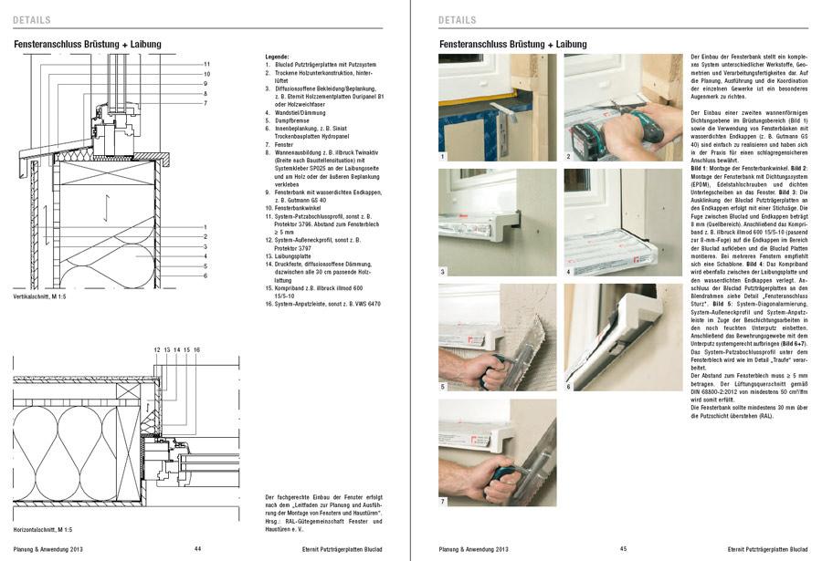neue dokumentation f r fassaden profis zur bluclad putztr gerplatte von eternit f r. Black Bedroom Furniture Sets. Home Design Ideas