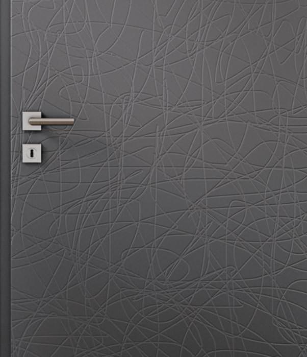 """Zimmertüren anthrazit  Style""""-Türen von Westag & Getalit mit geprägter Oberflächenstruktur"""