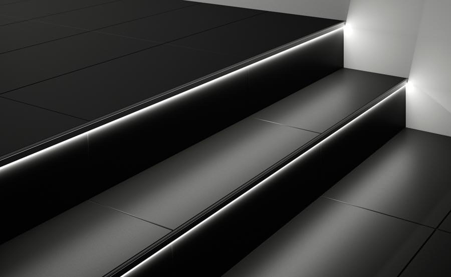 Schluter Liprotec Raume Gestalten Mit Led Profilen Fur Wand Boden