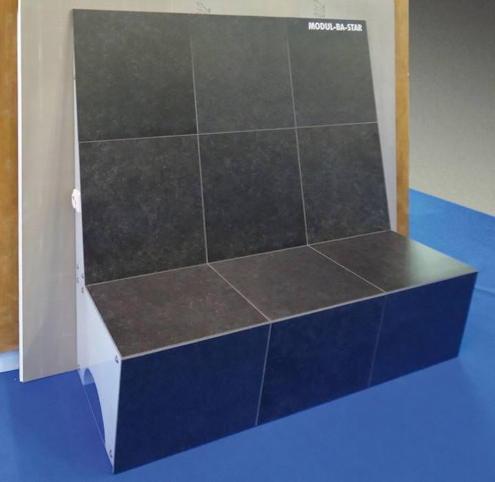 dampfbad konstruktionen aus dem modul baukasten von lux elements. Black Bedroom Furniture Sets. Home Design Ideas