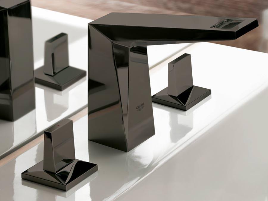 allure brilliant in strahlendem schwarz erg nzt grohe spa kollektion. Black Bedroom Furniture Sets. Home Design Ideas