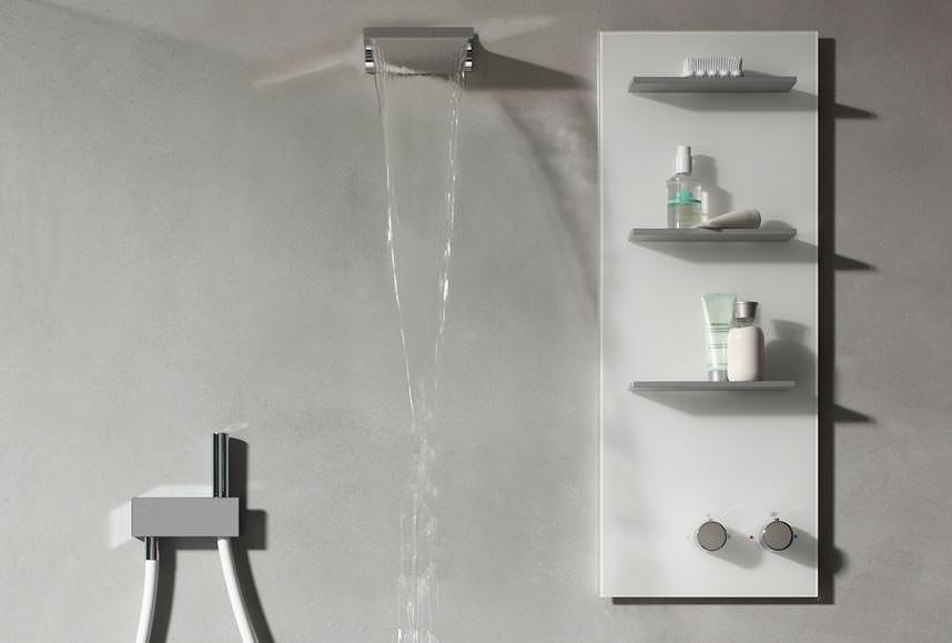Keuco Armaturenpaneel Im Sinne Eines Duschmöbels