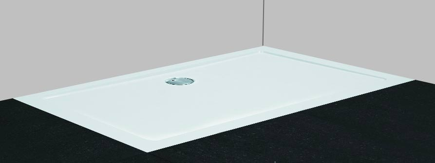 neu leichte mineral colorat flach duschwannen von combia bei. Black Bedroom Furniture Sets. Home Design Ideas
