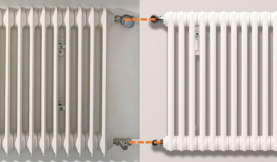 austausch r hrenradiator cambiotherm mit kurzen. Black Bedroom Furniture Sets. Home Design Ideas