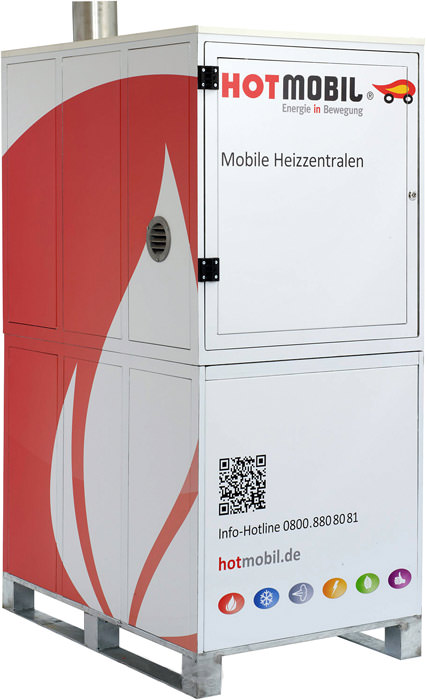 hotbox mobile 55kw heizzentrale dank euro paletten ma en im next day expressversand. Black Bedroom Furniture Sets. Home Design Ideas