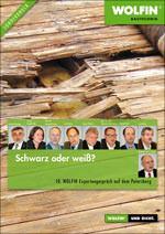 """Broschüre """"Schwarz oder weiß- 10. Wolfin-Expertengespräch auf dem Petersberg"""""""