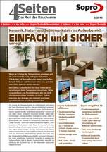 """""""4x4 der Bauchemie"""" zu Keramik, Natur- und Betonwerkstein im Außenbereich"""