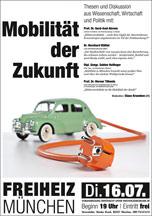 Plakat: Großstadtforum: Mobilität der Zukunft