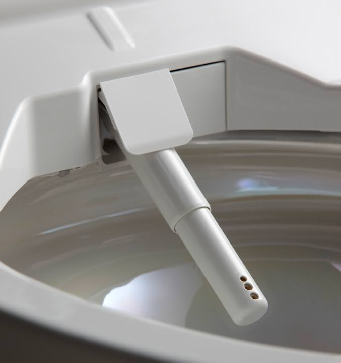 neue washlet generation u a mit elektrolytischem wasser und uv innenbeleuchtung. Black Bedroom Furniture Sets. Home Design Ideas